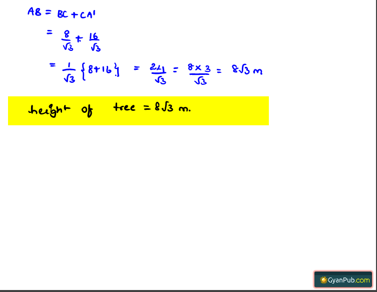 NCERT Solutions for Class 10th Maths Chapter 9 Exercise 9.1 Question 2 Part 2
