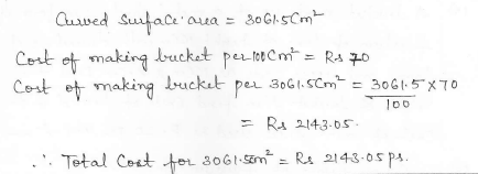 RD Sharma Class 10 Solutions Surface areas and Volumes Ex 16.3 Q13_ii