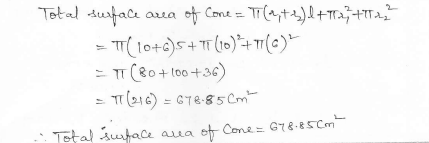 RD Sharma Class 10 Solutions Surface areas and Volumes Ex 16.3 Q2_ii
