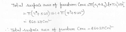 RD Sharma Class 10 Solutions Surface areas and Volumes Ex 16.3 Q4_ii