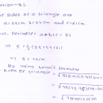 RD-Sharma-class 9-maths-Solutions-chapter 12 - Herons Formulae -Exercise 12.1 -Question-8
