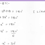 RD Sharma Class 7 Solutions 14.Lines and angles Ex-14.1 Q 27
