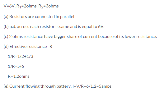 s chand class 10 physics solutions Chapter 1 Electricity Q30 Page 41