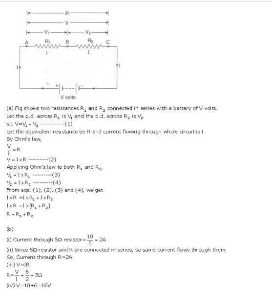 s chand class 10 physics solutions Chapter 1 Electricity Q32 Page 41