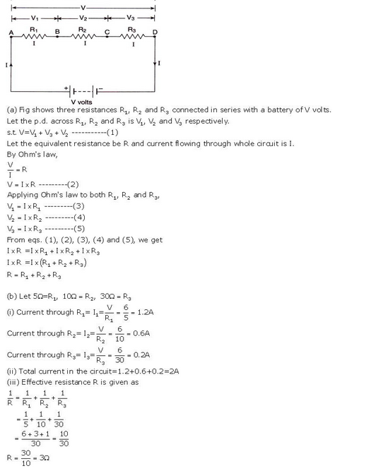 s chand class 10 physics solutions Chapter 1 Electricity Q33 Page 41
