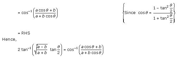 RD Sharma Class 12 Solutions Chapter 4 Inverse Trigonometric Functions Ex 4.2 Q8-i