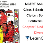 NCERT Solutions for Class 6 Social Science Civics Chapter 1 Understanding Diversity