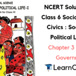 NCERT Solutions for Class 6 Social Science Civics Chapter 3 What is Government