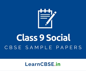 CBSE Sample Papers For Class 9 Science