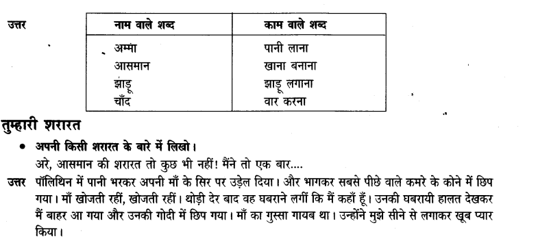 NCERT Solutions for Class 3 Hindi Chapter-3 चांद वाली अम्मा 4