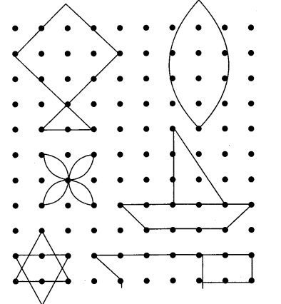 NCERT Solutions for Class 3 Mathematics Chapter-1 Where To Look From Rangoli Q4