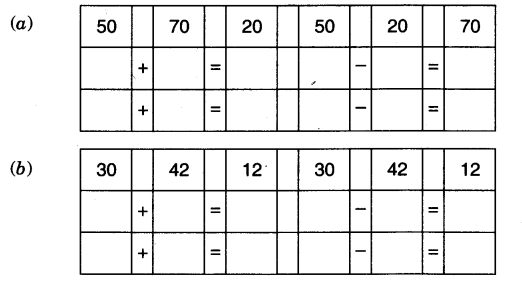 NCERT Solutions for Class 3 Mathematics Chapter-3 Give and Take Card Game 1