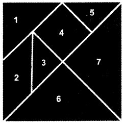 NCERT Solutions for Class 3 Mathematics Chapter-5 Shapes and Designs 7 Piece Tangram Q1