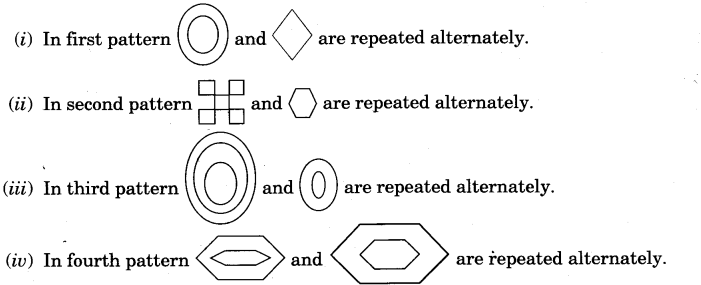 NCERT Solutions for Class 3 Mathematics Chapter-5 Shapes and Designs Weaving Patterns Q2