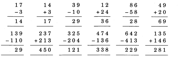 NCERT Solutions for Class 3 Mathematics Chapter-6 Fun With Give and Take Practice Q3.1