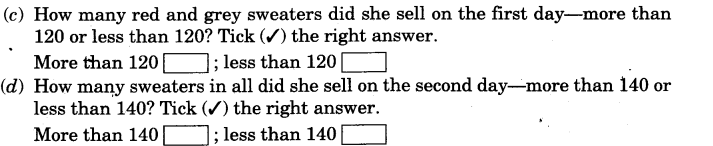 NCERT Solutions for Class 3 Mathematics Chapter-6 Fun With Give and Take Practice Time Q4.1