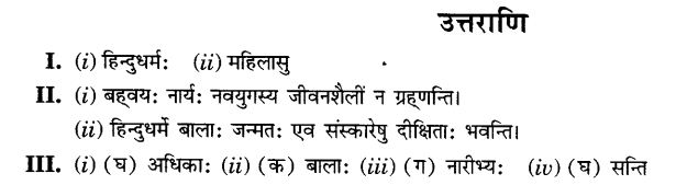 NCERT Solutions for Class 10th Sanskrit Chapter 1 अपठित -अवबोधनम 21