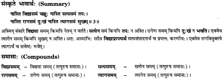 NCERT Solutions for Class 10th Sanskrit Chapter 1 Vadmayam Thapaha 11