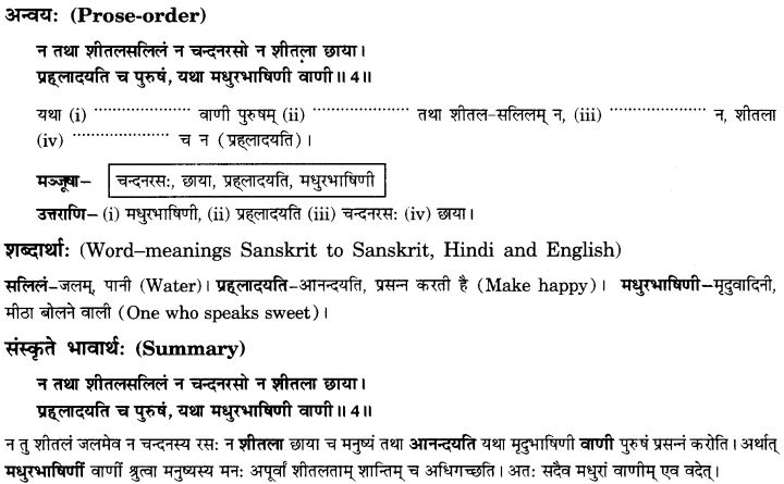 NCERT Solutions for Class 10th Sanskrit Chapter 1 Vadmayam Thapaha 15