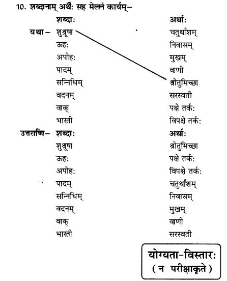 NCERT Solutions for Class 10th Sanskrit Chapter 1 Vadmayam Thapaha 41