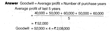 NCERT Solutions for Class 12 Accountancy Chapter 3 Reconstitution of a Partnership Firm – Admission of a Partner Q13.1