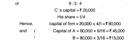 NCERT Solutions for Class 12 Accountancy Chapter 3 Reconstitution of a Partnership Firm – Admission of a Partner Q31.1