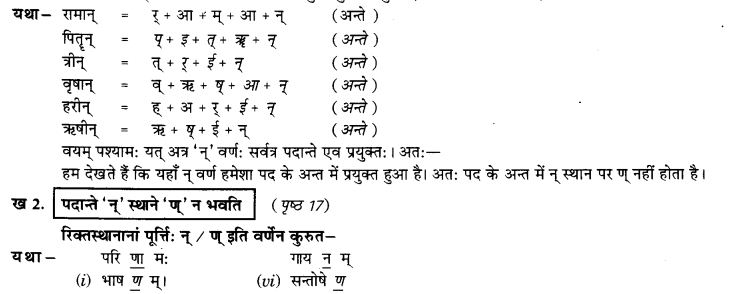 NCERT Solutions for Class 9th Sanskrit Chapter 3 Vyajtrnasandhihi 5