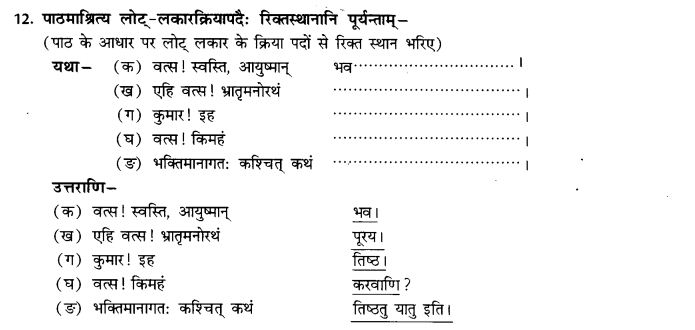 NCERT Solutions for Class 9th Sanskrit Chapter 5 Bhratrusanehastu Drulabh 37