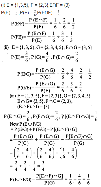 Probability Class 12 Maths NCERT Solutions Chapter 13 Ex 13.1 Q 11