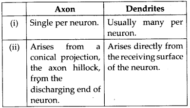 NCERT Solutions For Class 11 Biology Neural Control and Coordination Q9.1