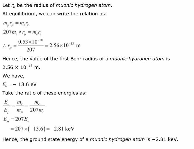 NCERT Solutions For Class 12 Physics Chapter 12 Atoms 19