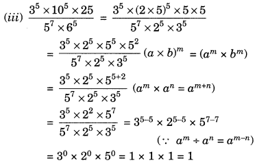 NCERT Solutions for Class 7 Maths Chapter 13 Exponents and Powers Ex 13.2 9