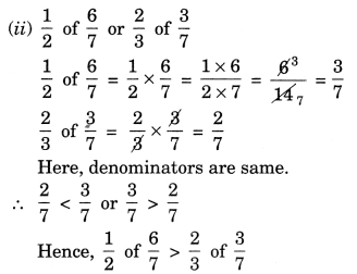 NCERT Solutions for Class 7 Maths Chapter 2 Fractions and Decimals Ex 2.3 10