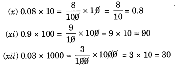 NCERT Solutions for Class 7 Maths Chapter 2 Fractions and Decimals Ex 2.6 2
