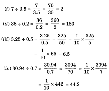 NCERT Solutions for Class 7 Maths Chapter 2 Fractions and Decimals Ex 2.7 3