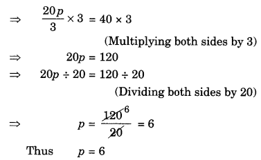 NCERT Solutions for Class 7 Maths Chapter 4 Simple Equations Ex 4.2 7