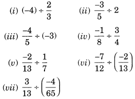 NCERT Solutions for Class 7 Maths Chapter 9 Rational Numbers Ex 9.2 10