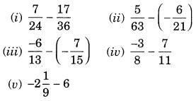 NCERT Solutions for Class 7 Maths Chapter 9 Rational Numbers Ex 9.2 4