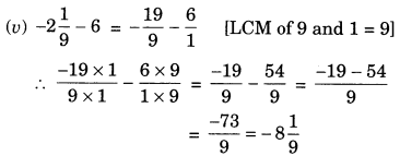 NCERT Solutions for Class 7 Maths Chapter 9 Rational Numbers Ex 9.2 6