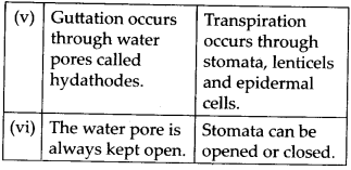 NCERT Solutions For Class 11 Biology Transport in Plants Q16.10