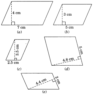 NCERT Solutions for Class 7 Maths Chapter 11 Perimeter and Area Ex 11.2 1