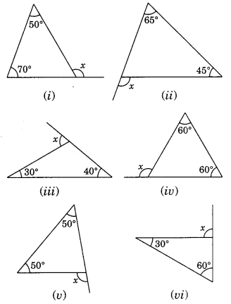 NCERT Solutions for Class 7 Maths Chapter 6 The Triangle and its Properties Ex 6.2 1