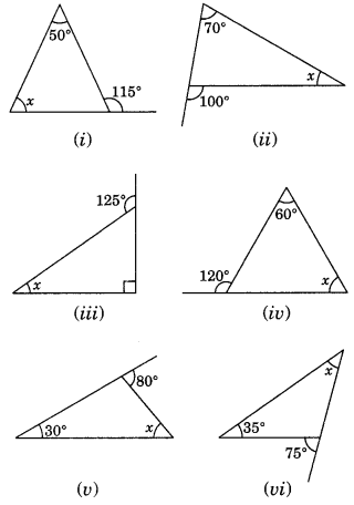 NCERT Solutions for Class 7 Maths Chapter 6 The Triangle and its Properties Ex 6.2 2