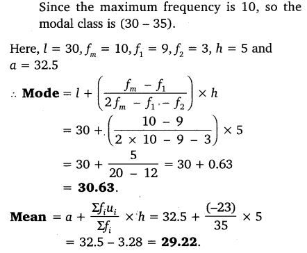 Chapter 14 Maths Class 10 NCERT Solutions Ex 14.2 PDF Download Q4.1