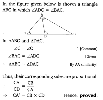 similar triangles class 10 ex 6.3
