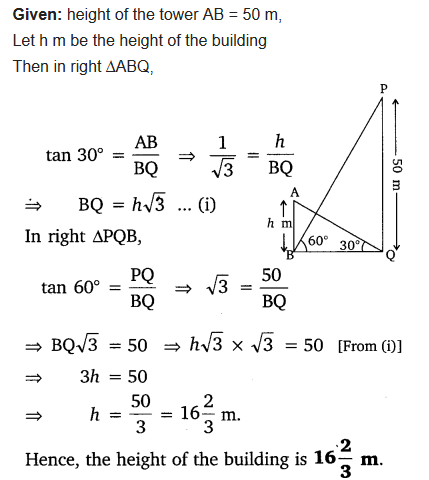 Class 10 Maths Chapter 9 NCERT Solutions Ex 9.1 pdf Q9