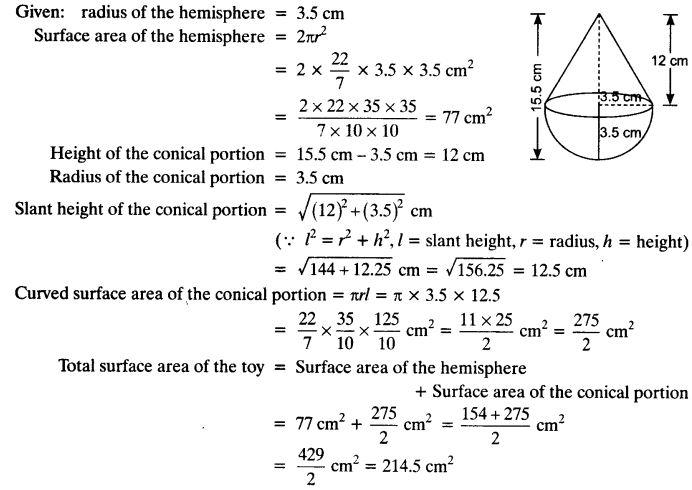 Ex 13.1 Class 10 Maths NCERT Solutions Q3