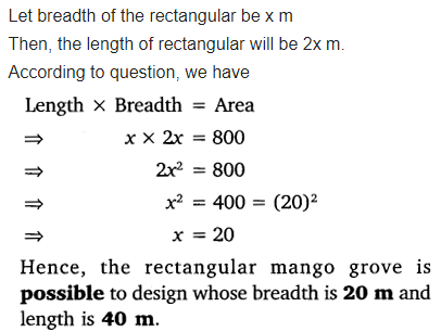 Ex 4.4 Class 10 Maths NCERT Solutions Chapter 4 Quadratic Equations Free PDF Download Q3