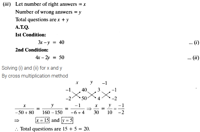 Exercise 3.5 Class 10 Maths NCERT Solutions Pair Of Linear Equations In Two Variables Q4.2