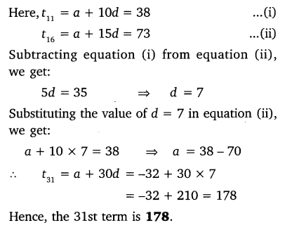 Exercise 5.2 Class 10 Maths NCERT Solutions Arithmetic Progression Q7